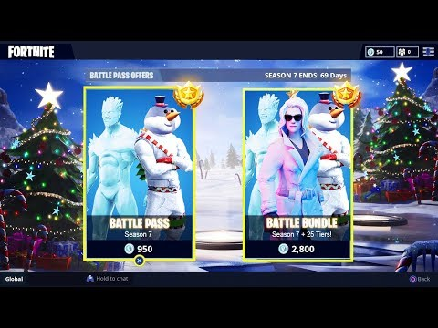 *NEW* Fortnite SEASON 7 BATTLE PASS BUNDLE! - Fortnite Season 7 Battle PASS SKINS & UNLOCKS!