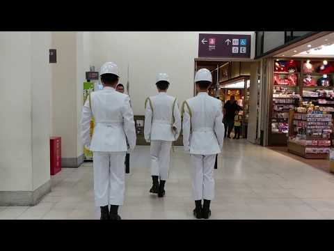 20180424海軍儀隊交接:中正紀念堂(Chiang Kai-shek Memorial Hall),國父紀念館(Dr. Sun Yat-Sen Memorial Hall)