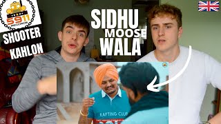 GAME - SIDHU MOOSE WALA | SHOOTER KAHLON (Full Video) 5911 Records | GILLTYYY REACT