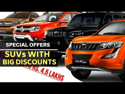 10 SUVs with BIG discounts: Ford Endeavour to Mahindra Scorpio