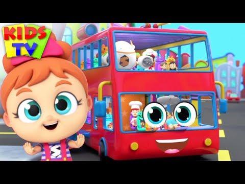 Wheels On The Bus | Super Supremes | Kids Songs & Nursery Rhymes For Babies