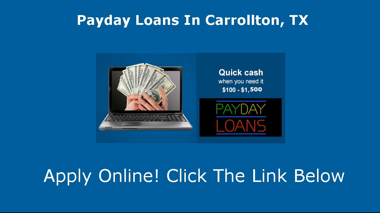 Payday Loans Carrolton, TX