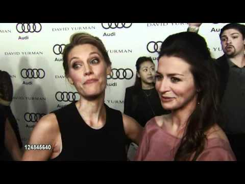 Kadee Strickland and Caterina Scorsone (Kaderina) in the Emmy Awards Week