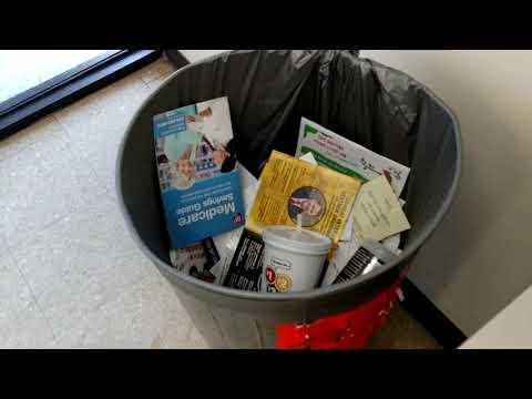 Textbook behavior postal employee at Harrah, Oklahoma Post office first amendment audit
