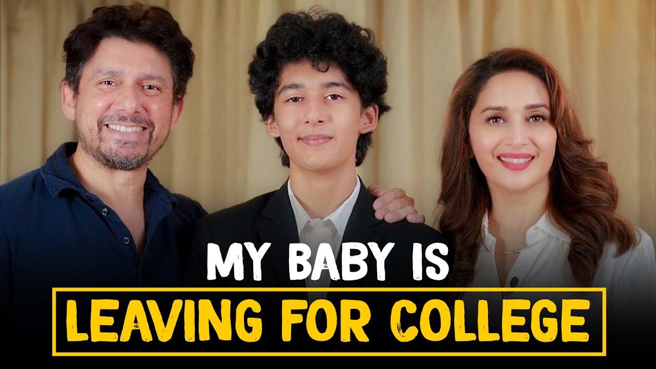 Madhuri Dixit on her son leaving for college ft. Dr. Nene | Madhuri Dixit Nene