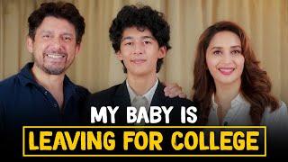Madhuri Dixit on her son leaving for college ft. Dr. Nene   Madhuri Dixit Nene