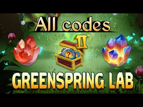 Greenspring Event | All Codes Including Appex And Zenith | Castle Clash