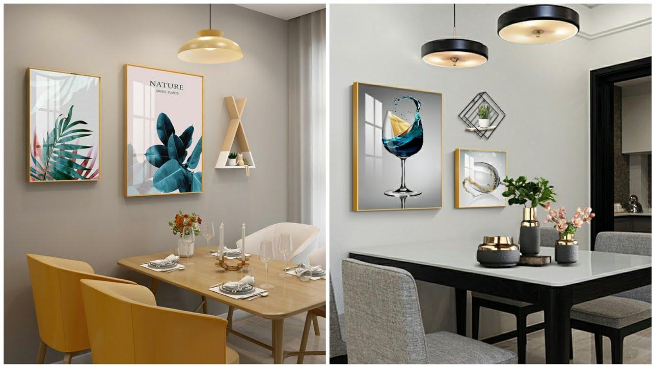 Simple Dining Room Wall Decor Ideas Youtube