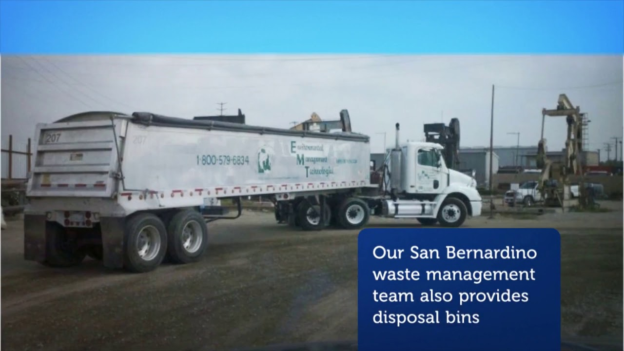 Enviromental Waste Management Technoligies in San Bernardino, CA