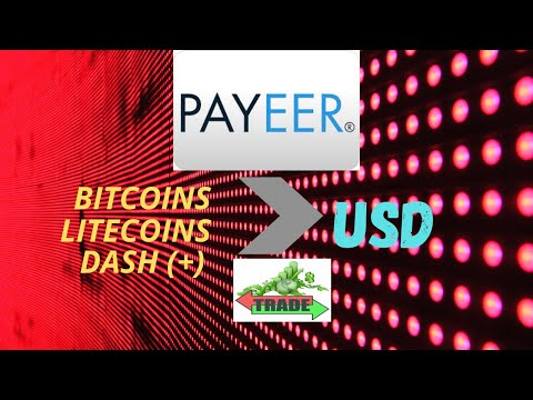 HOW TO CONVERT BITCOINS INTO USD? (Trading In PAYEER)
