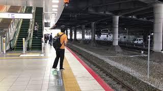 【JR西日本】10:03発の特急まほろば号新大阪駅到着