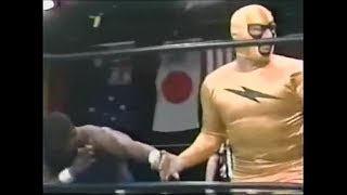 Thunderfoot 1&2 vs Keith Patterson & Tony Zane NWA wrestling