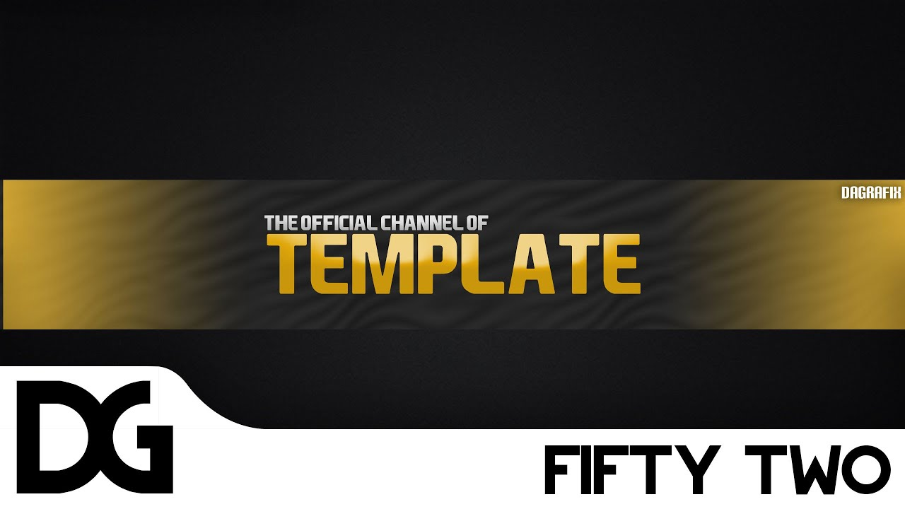 channel art template (photoshop) download
