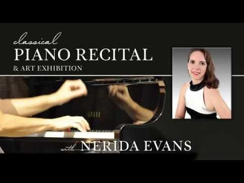 Nerida Evans Classical Piano Recital 12 July 2016