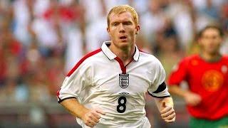 Paul Scholes all England Goals