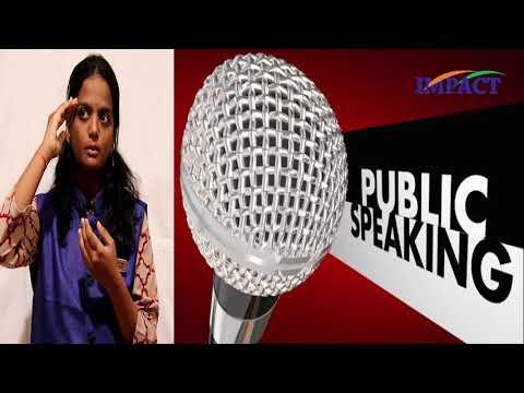 Better Public Speaking - Communication Skills || Dharma Chaturya Reddy || IMPACT || 2019