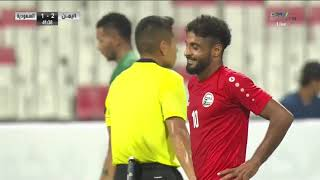 ملخص مباراة المنتخب السعودي 2 --- 2 المنتخب اليمني التصفيات المشتركة لكأس العالم 2022 و آسيا 2023