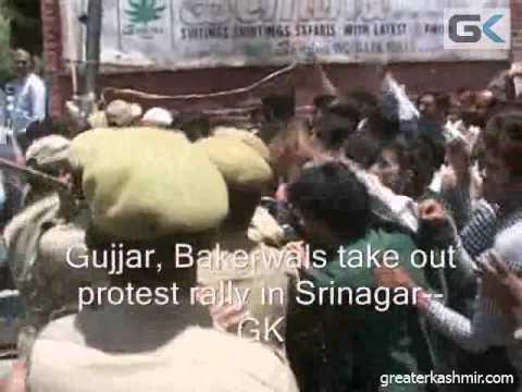 'Sadda Haq ithe rakh': Gujjars protest in Srinagar