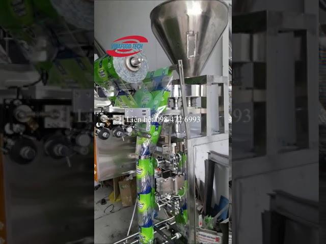 Máy đóng đường tự động Vinafoodtech/ Tăng năng suất lao động và độ phủ thương hiệu của nhà sản xuất
