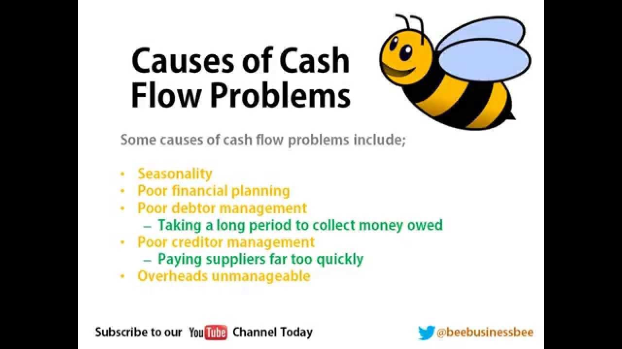 bee business bee improving cash flow tutorial youtube