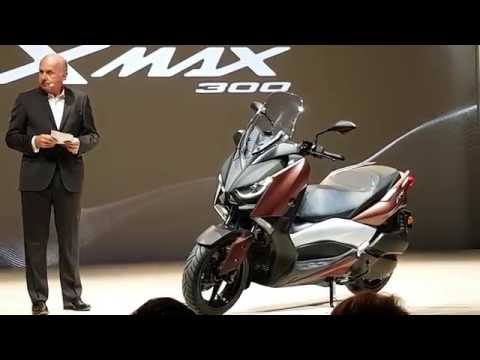 Yamaha X-Max 300 World Premiere in Milan - first look in 4K