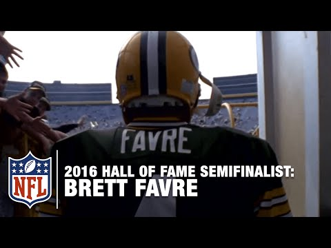 Former Opponents Pay Homage to Brett Favre | 2016 Pro Football Hall of Fame Semi-Finalists | NFL