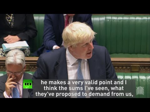 "Boris Johnson: ""EU can go whistle if they want more money from us"""