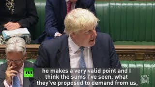"""Boris Johnson: """"EU can go whistle if they want more money from us"""""""