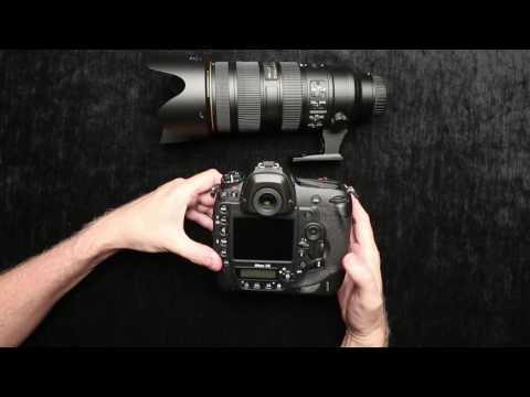 Nikon D5 Burst Mode Demo & Features Tour