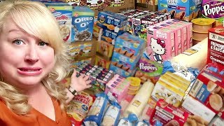 Large Family Grocery Shopping Haul ????SO MUCH JUNK FOOD | Jamerrill Stewart Grocery Haul