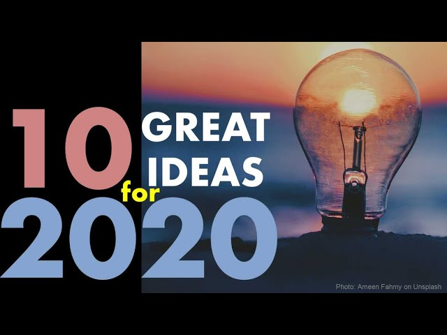 10 Great Ideas for 2020 | Taiwan Insider | Jan. 2, 2020 | RTI