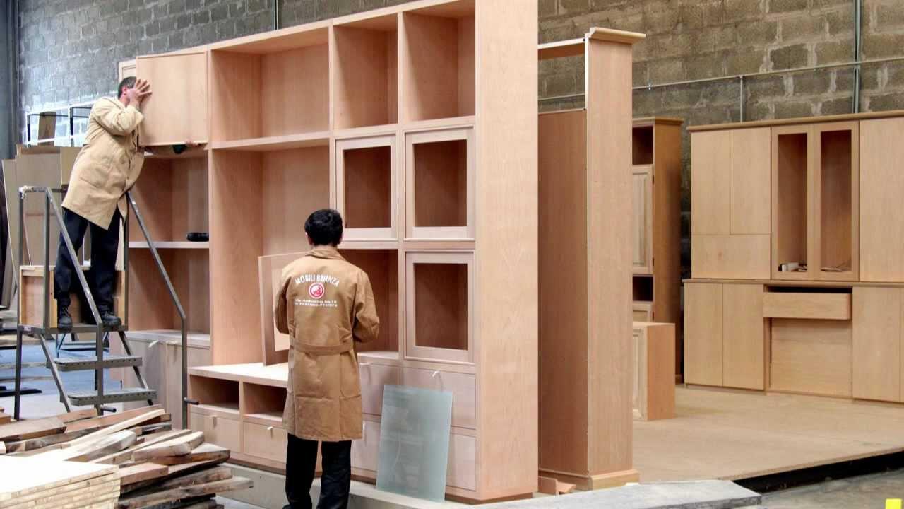 La falegnameria di mobili brianza youtube for Mobili mobili