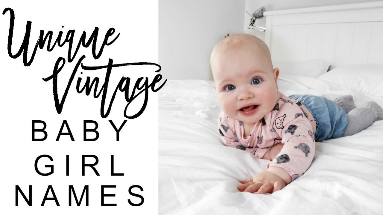 Old Fashioned Baby Girl Names