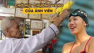 Ông nội Ánh Viên thắp nhang xin cho cháu được huy chương vàng SEA Games