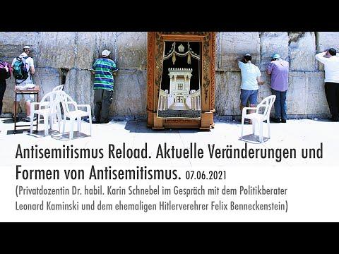 Antisemitismus Reload. Aktuelle Veränderungen und Formen von Antisemitismus. 07.06.2021