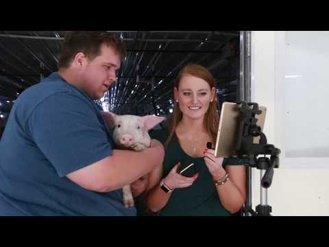 Urban Students Take Virtual Field Trip to Pig Farm
