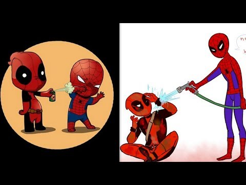 30+ Hilariously Funny SPIDER-MAN & DEADPOOL Comics To Make You Laugh