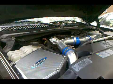 Tial BOV vortech supercharger silverado