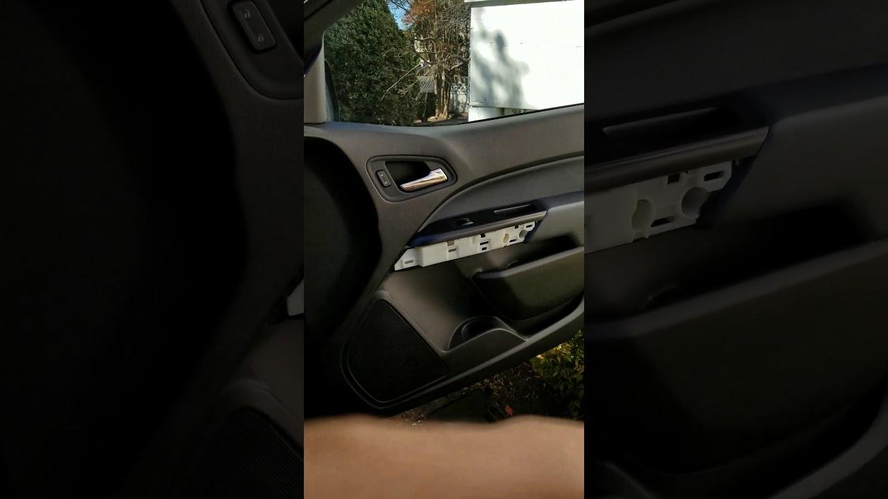 Chevy Colorado door panel rattling fix & Chevy Colorado door panel rattling fix - YouTube