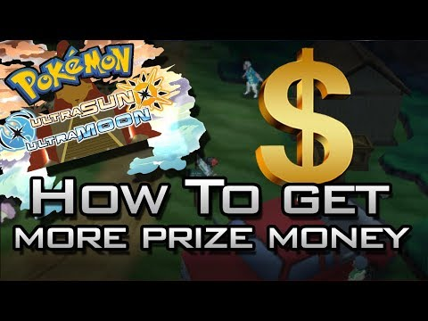 Pokemon Ultra Sun & Ultra Moon Tips: How To Get More Prize Money!
