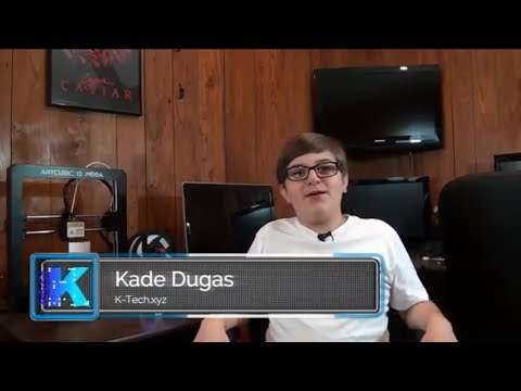 K-Tech.xyz - Learn the basics of 3D Printing, Blockchain Technology and Cryptocurrency with Kade