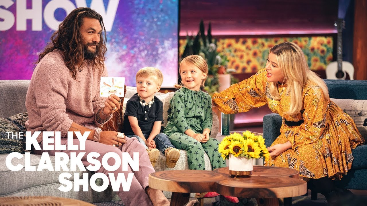 Kelly Clarkson S Kids Ask Jason Momoa Questions
