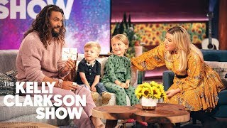 Download Kelly's Kids Ask Jason Momoa Their Burning 'Aquaman' Questions Mp3 and Videos
