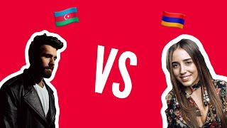 Рекция на Chingiz - Truth и Srbuk - Walking Out | Azerbaijan 🇦🇿 vs Armenia 🇦🇲  | Eurovision 2019