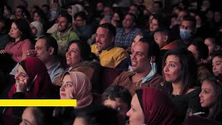 إبرام مقدرش يقاوم كوميديا أشرف عبد الباقي وخرج عن النص