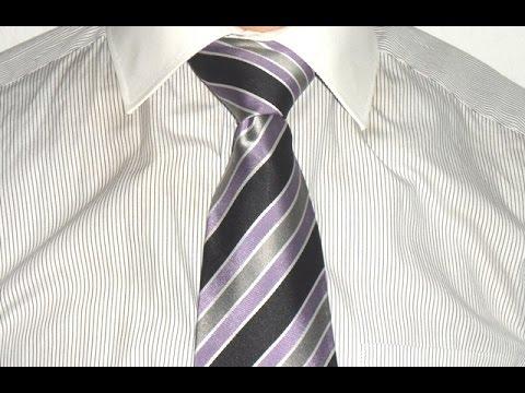 Krawatte Binden Doppelter Knoten Tie A Tie Double Knot Youtube
