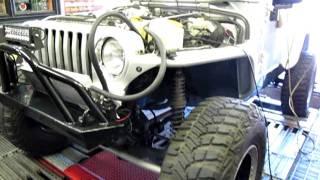 "RIPP Supercharged 2005/6 TJ Auto 37"" Tires Dana 44 5:13 Gears"