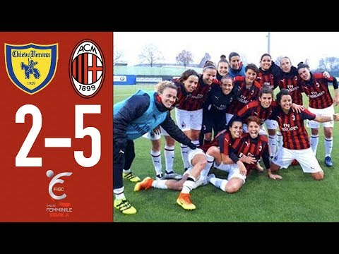 Highlights Chievo 2-5 AC Milan - Matchday 11 Women's Serie A 2018/19