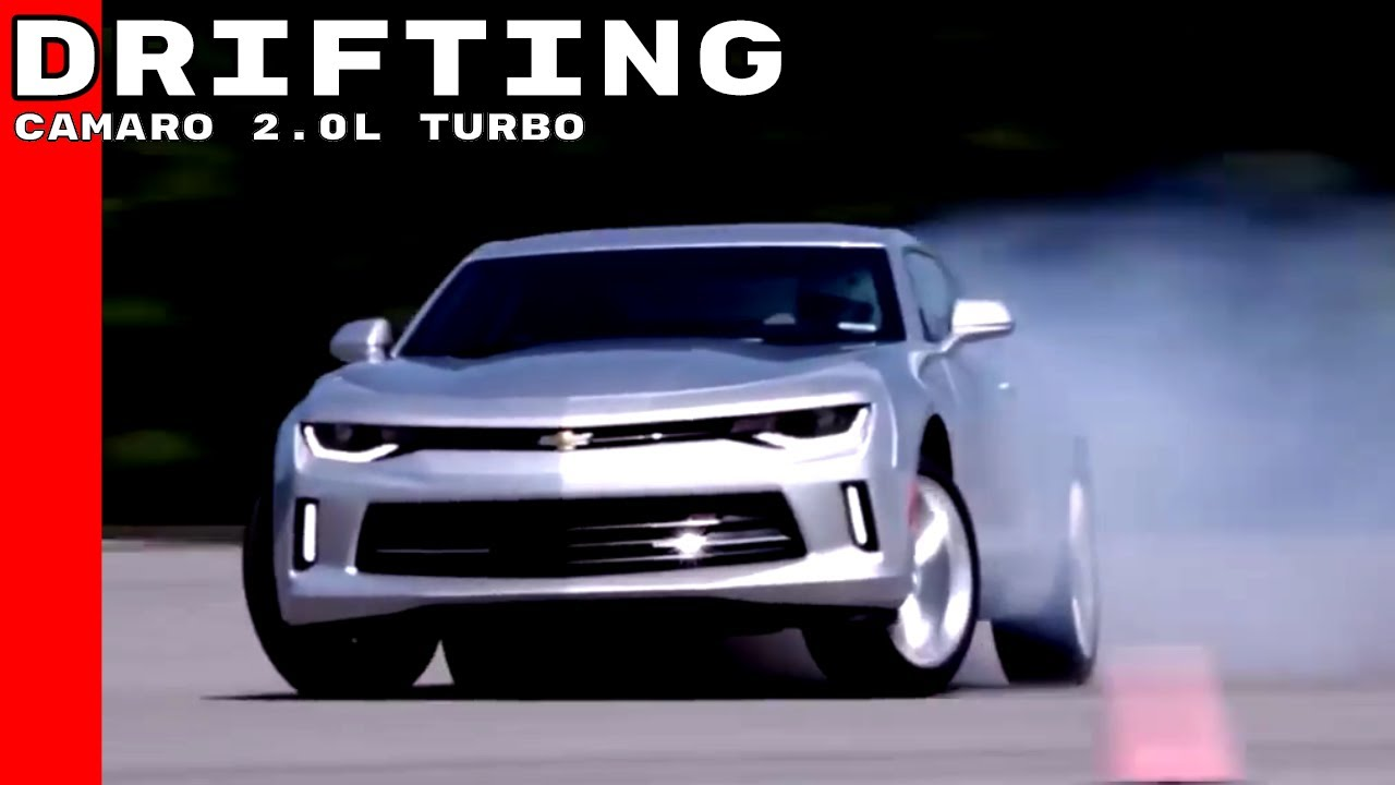 Chevy Camaro 2 0l Turbo 4 Cylinder Drifting