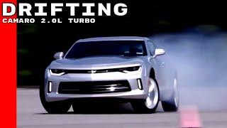 Chevy Camaro 2.0L Turbo 4 Cylinder Drifting